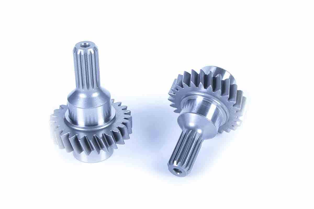 Gears for transmission used for construction